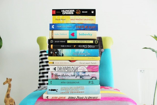 Knihy na léto.